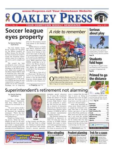 3ecefc0809d Oakley Press 06.10.11 by Brentwood Press   Publishing - issuu