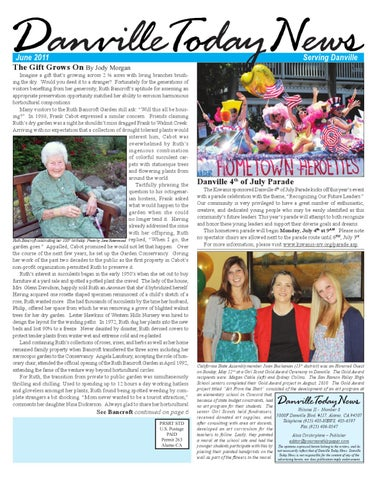 Danville Today News, June 2011 by The Editors, Inc - issuu