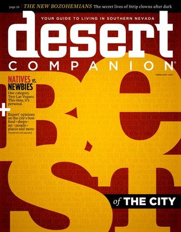 b754eaf23ccc5 Desert Companion - February 2011 by Nevada Public Radio - issuu