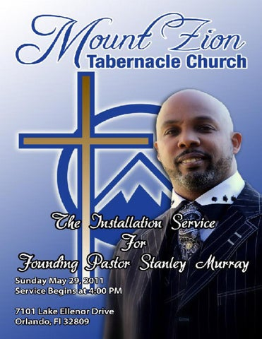 Mt zion tabernacle pastor installation service by mt zion galatians 69 and let us not be weary in well doing for in due season we shall reap if we faint not pastor stanley l murray was born on december 15th in altavistaventures Choice Image