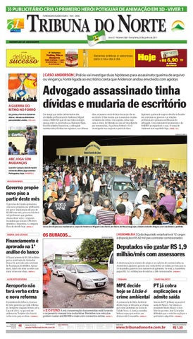 Tribuna do Norte - 03 06 2011 by Empresa Jornalística Tribuna do ... 5d86e8cce7