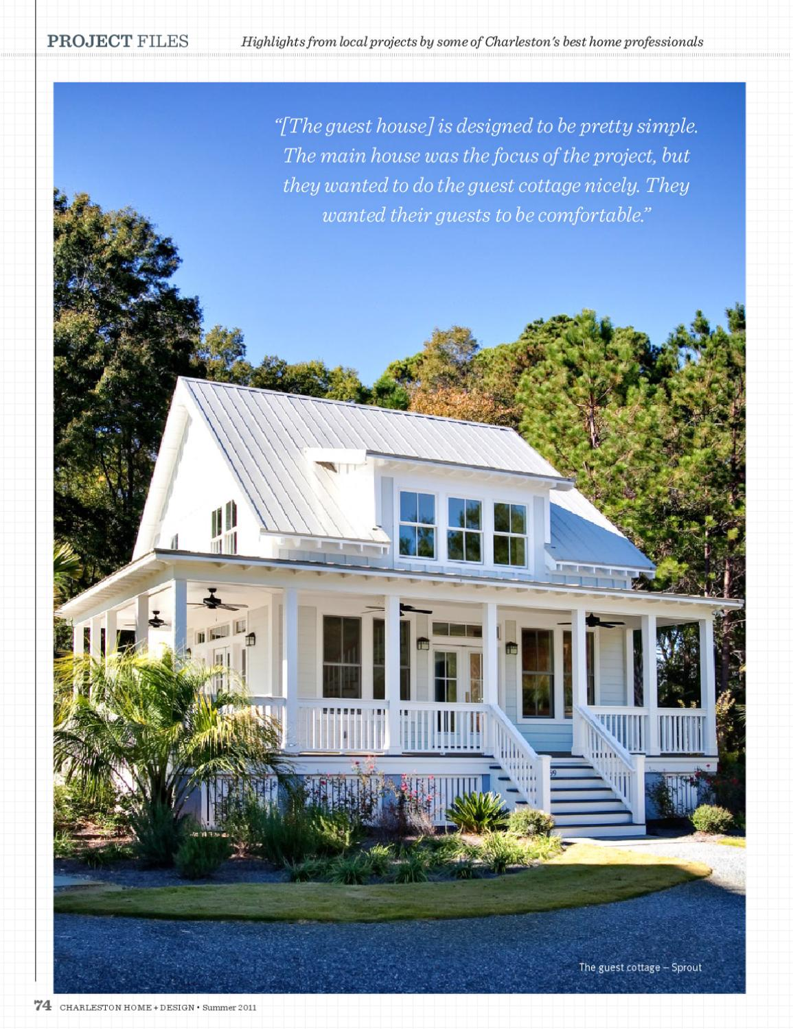 Charleston home design magazine summer 2011 by for Charleston home design magazine