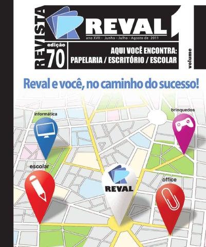 8ee4112084e Revista Reval 70 - Volume 1 by Reval Atacado de Papelaria Ltda. - issuu