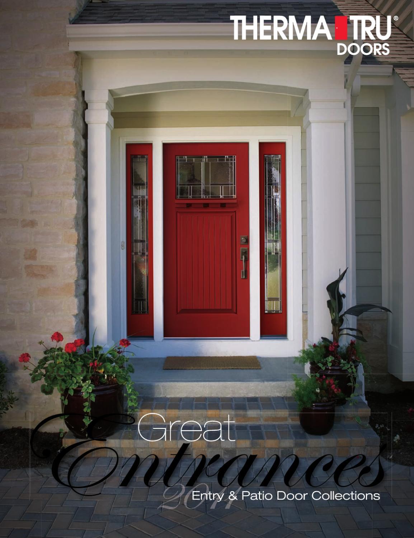 Therma tru doors by shayann behjati issuu for Exterior door corner seal pads