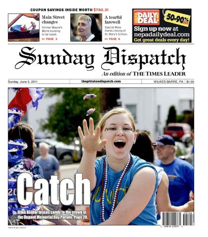 The pittston dispatch 06 05 2011 by the wilkes barre publishing coupon savings inside worth 78231 fandeluxe Image collections