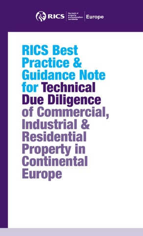 due diligence best practice guide