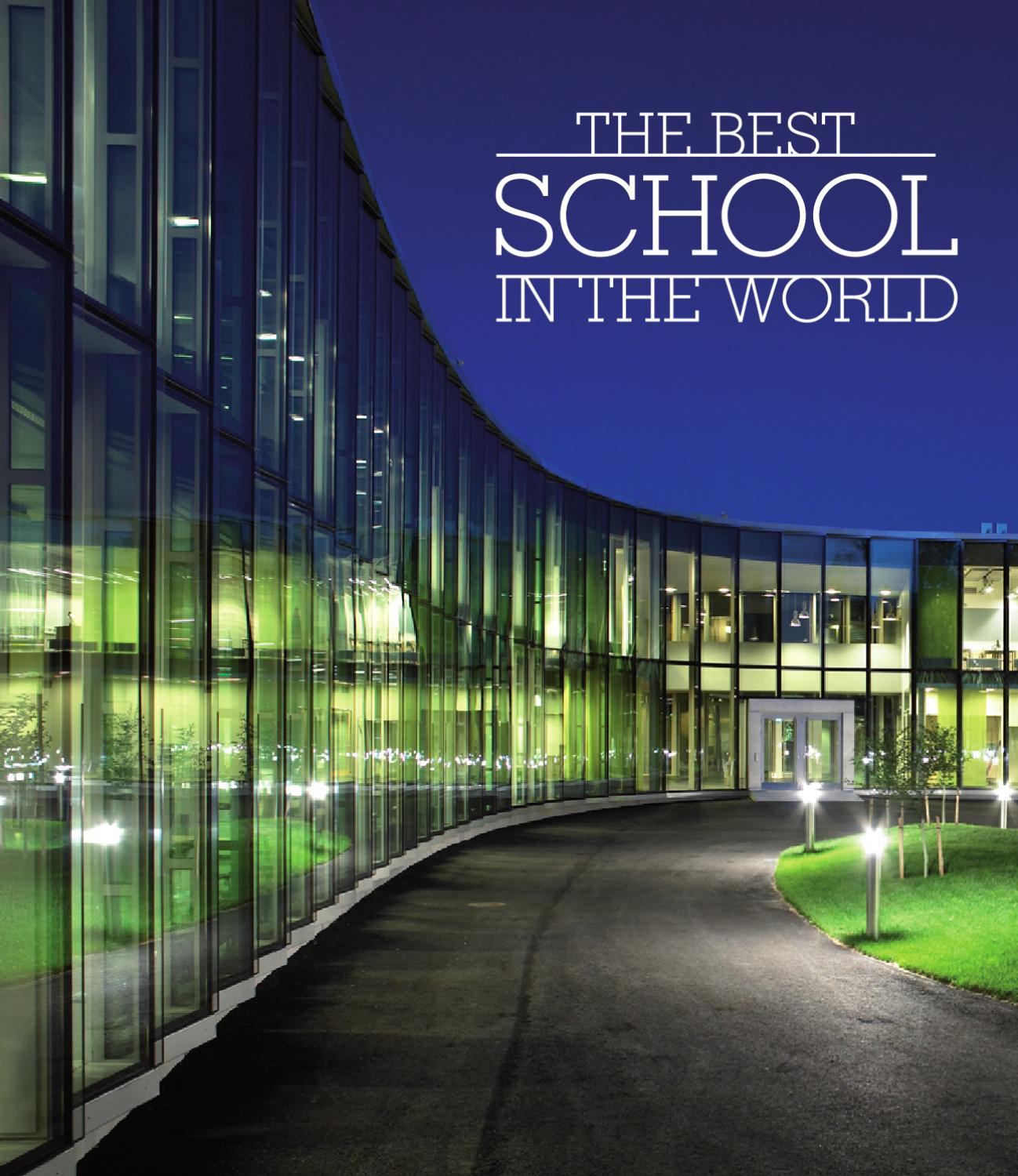 Good Schools For Architecture: The Best School In The World: Seven Finnish Examples From