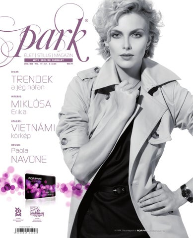 9f42451cfad9 Park Magazin 2010. IV. évf. 2. szám Ősz - Tél by MOM Park Retail - issuu