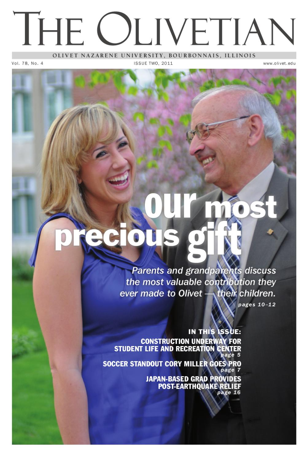 our most precious gift by olivet nazarene university issuu