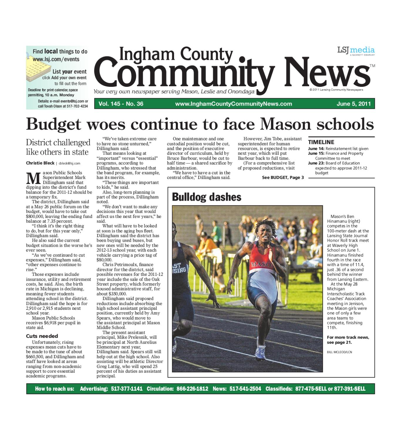Ingham County munity News by Lansing State Journal issuu