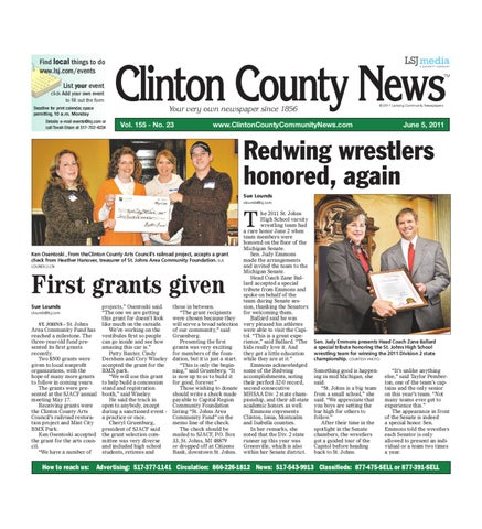 463aa99f426c Clinton County News by Lansing State Journal - issuu