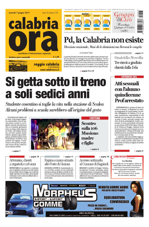 07-06-2011rc by Redazione CalabriaOra Redazione - issuu 4a58d0af2a4