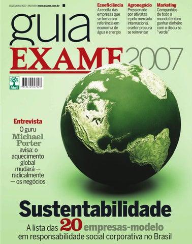 61b8a078aa Guia EXAME de Sustentabilidade 2007 by Revista EXAME - issuu