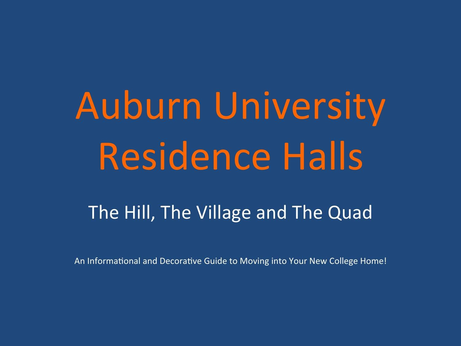 auburn university singles Auburn university (au or auburn)  south donahue opened in 2013 and is a single residence hall located on the corner of south donahue and west samford,.