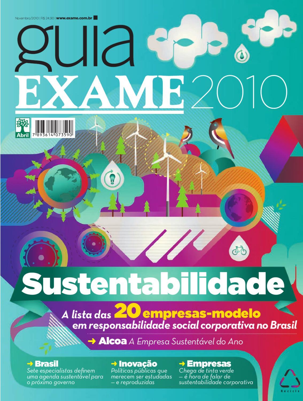 d8478f633f8 Guia EXAME de Sustentabilidade 2010 by Revista EXAME - issuu