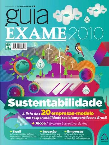 b7ecd274e7cd1 Guia EXAME de Sustentabilidade 2010 by Revista EXAME - issuu