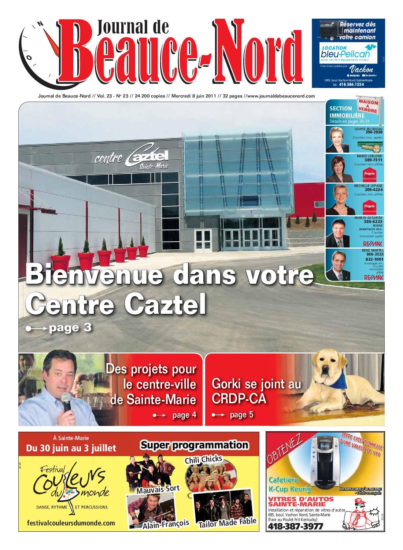 Journal De Beauce Nord Du 8 Juin 2011 By Journal De Beauce Nord   Issuu