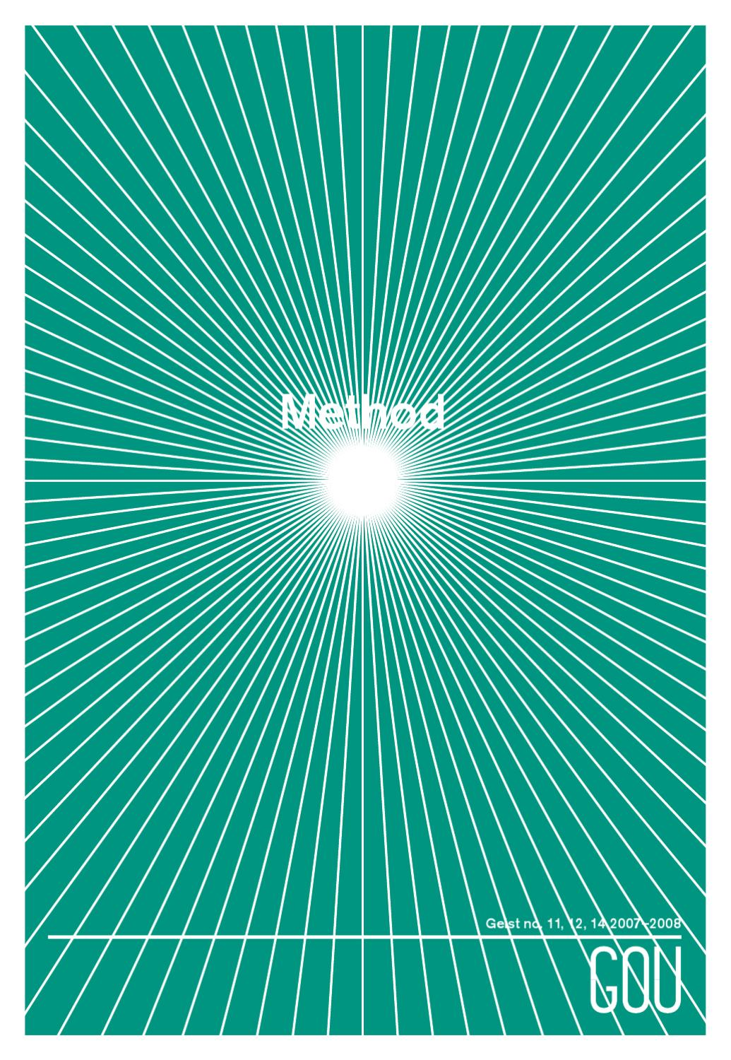Gou 1 Method By Geist Magazine Issuu