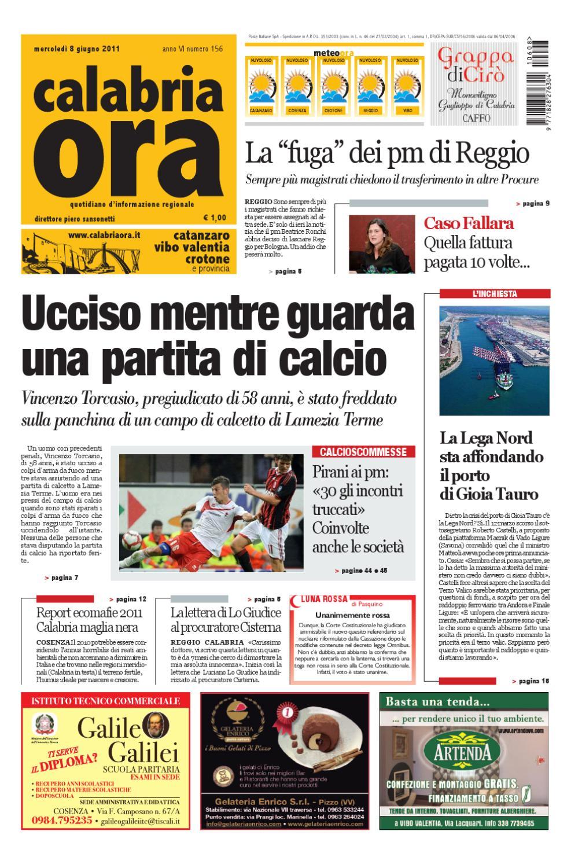 08-06-2011cs by Redazione CalabriaOra Redazione - issuu 9a86c564939