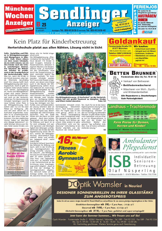 KW 23-2011 by Wochenanzeiger Medien GmbH - issuu