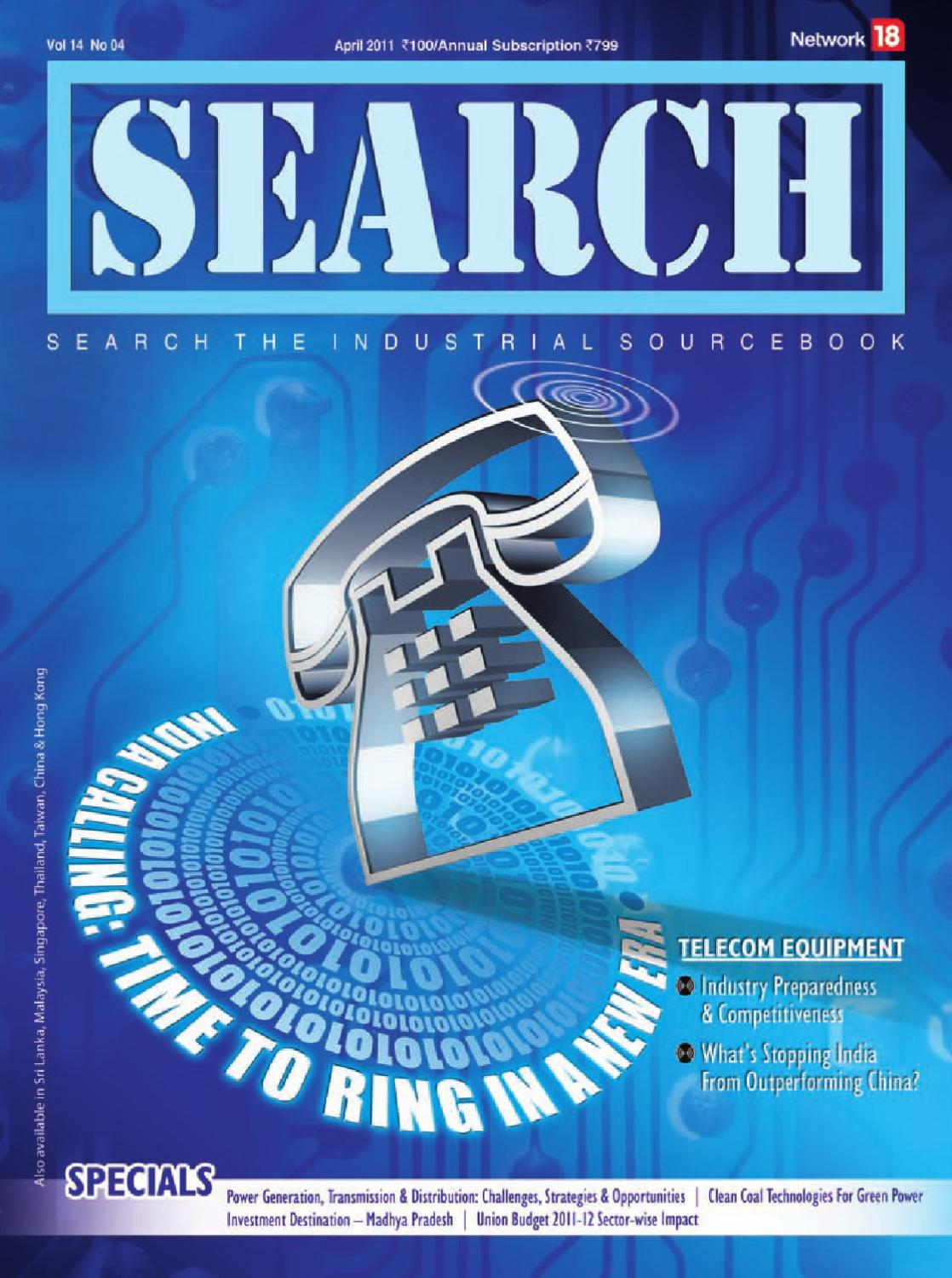 Search - April 2011 by Infomedia18 - issuu