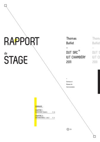 Rapport De Stage By Thomas Buffet Issuu