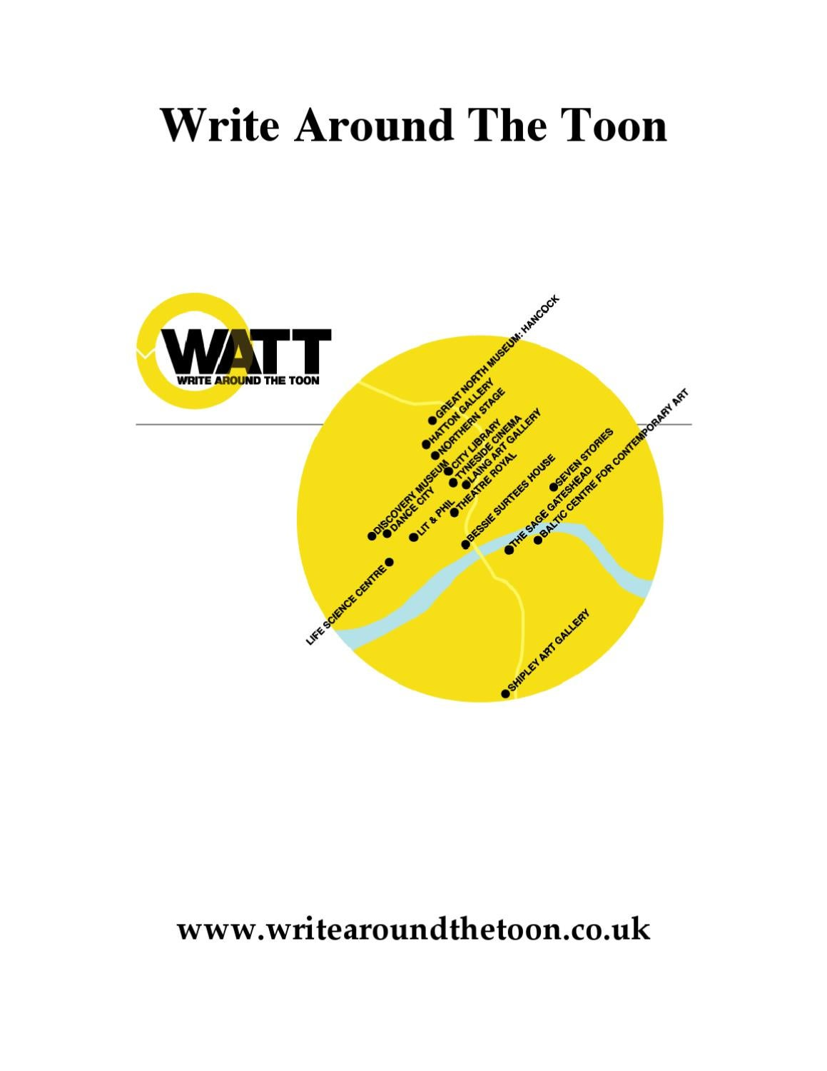 watt write around the toon newcastle