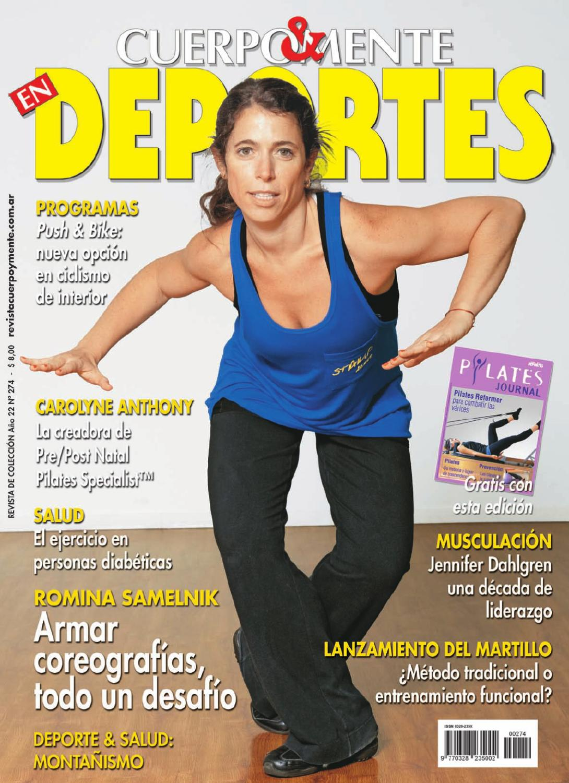 Revista Cuerpo y Mente en Deportes by Jose Alberto Dalessandria - issuu