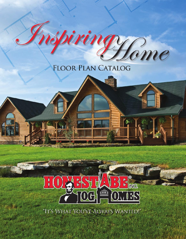 Honest Abe Log Homes Floor Plan Catalog By Honest Abe Log Homes Issuu