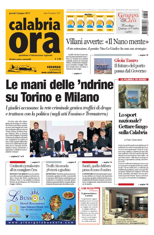 09 06 2011cs by Redazione CalabriaOra Redazione issuu