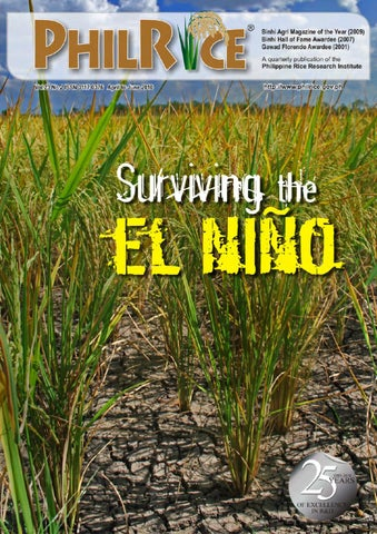 Philrice Magazine 2010 2q By Philippine Rice Research Institute Issuu
