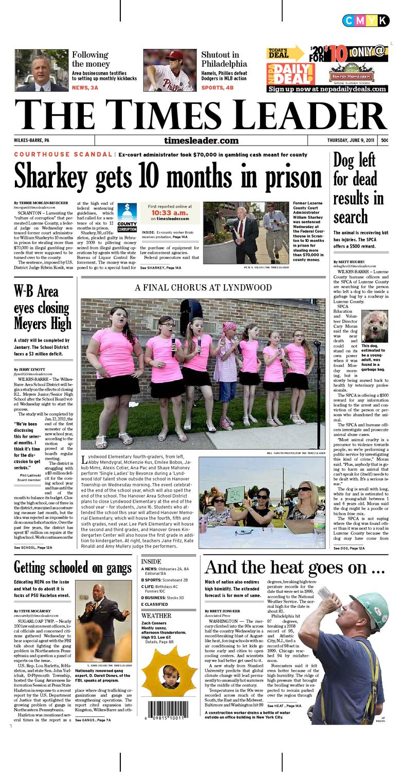 Times Leader 06-09-2011 by The Wilkes-Barre Publishing Company - issuu 6e913354d