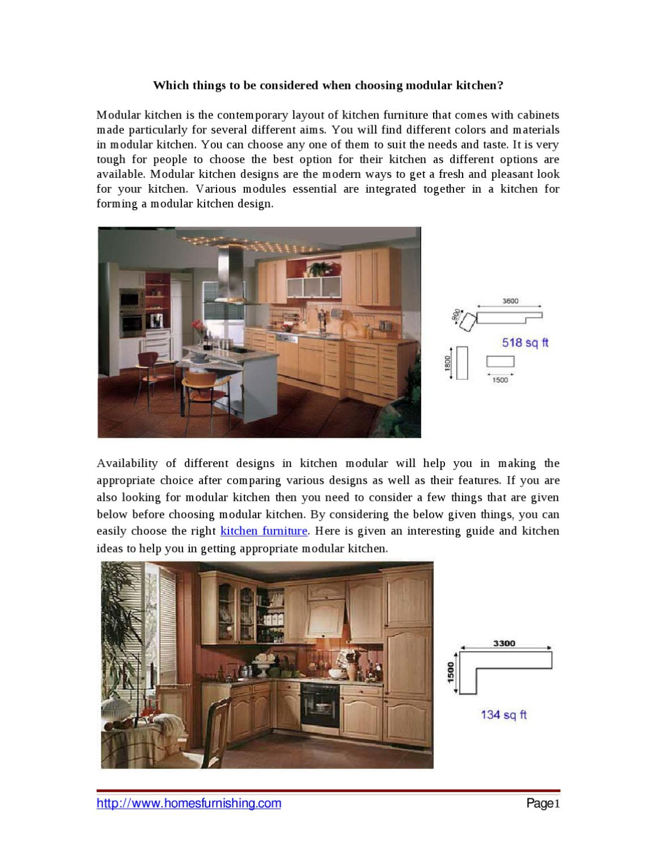 Modular Kitchen Design Aspects By Erica Grey Issuu