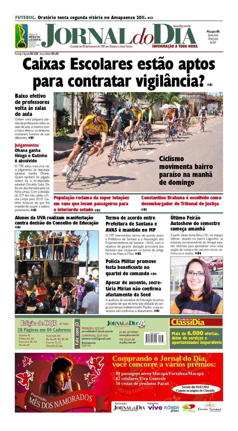 jdia 09 06 2011 by Jornal Do Dia - issuu 9d1d7fd3967