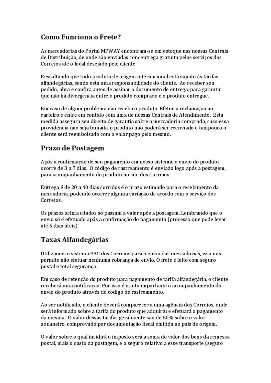 3e7f16054c1 Mpway - Como Funciona a Importação  by Gabriel Limeira - issuu