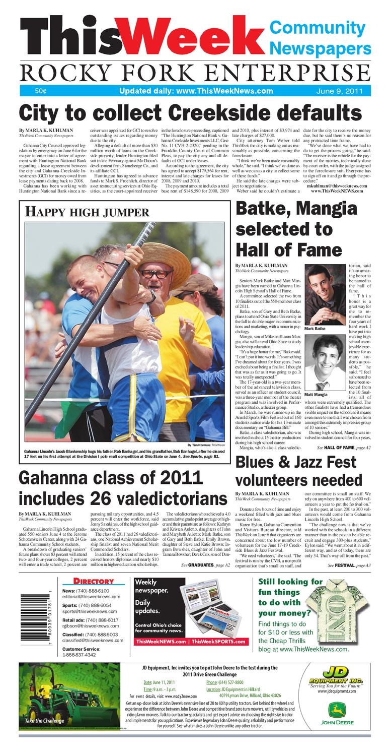 ThisWeek Gahanna 6/9 by The Columbus Dispatch - issuu
