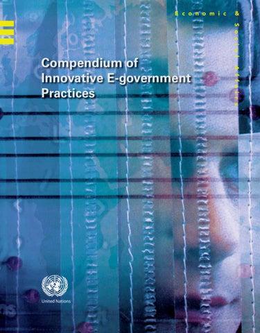 Compendium of Innovative E-Gov Practices Vol I/II