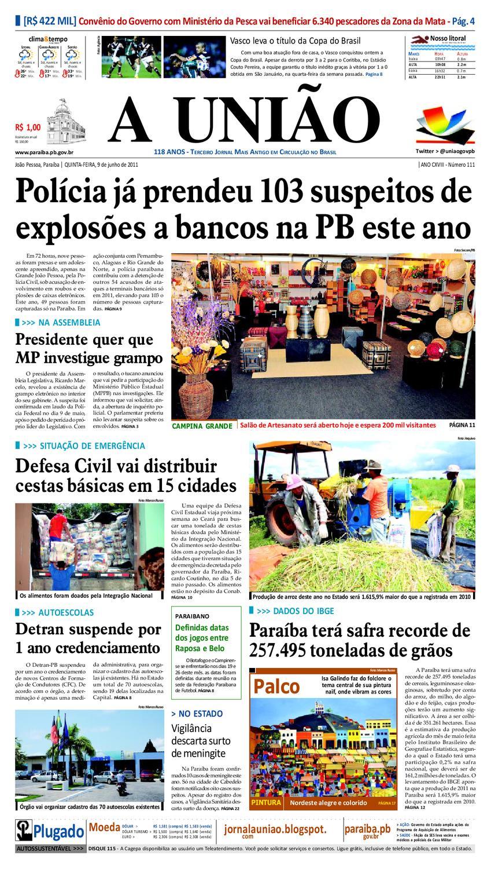 JORNAL A UNIÃO by Jornal A União - issuu f814890e8937d