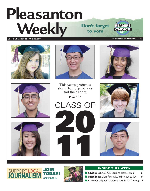 Pleasanton Weekly 06 10 2011 Section 1 By Pleasanton Weekly Issuu
