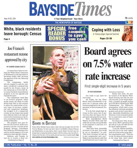 Bayside Times 5-19 11 by CNG community Newspaper Group: A News