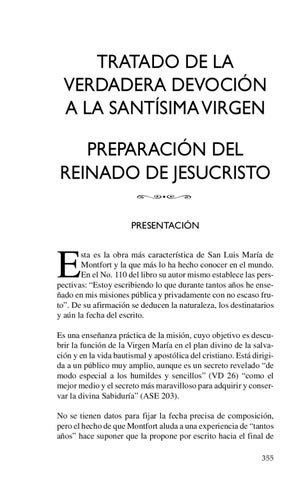 Tratado de la Verdadera devocion a la Santicima Virgen. Autor San ...