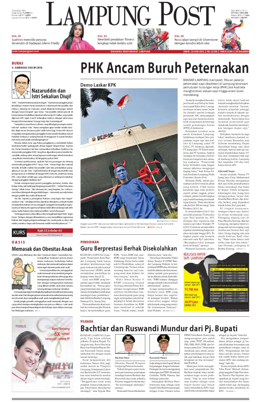Lampung Post Edisi Cetak Jumat 10 Juni 2011 By Issuu Produk Ukm Bumn Barbekyu Kelitik Surabaya