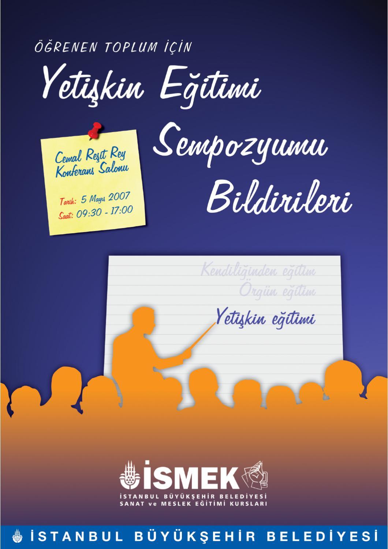 Yetiskin Egitimi Sempozyum Bildirileri 1 By Istanbul Buyuksehir