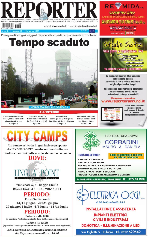 860f555949 Reporter Giornale 10 giugno 2011 by Reporter - issuu