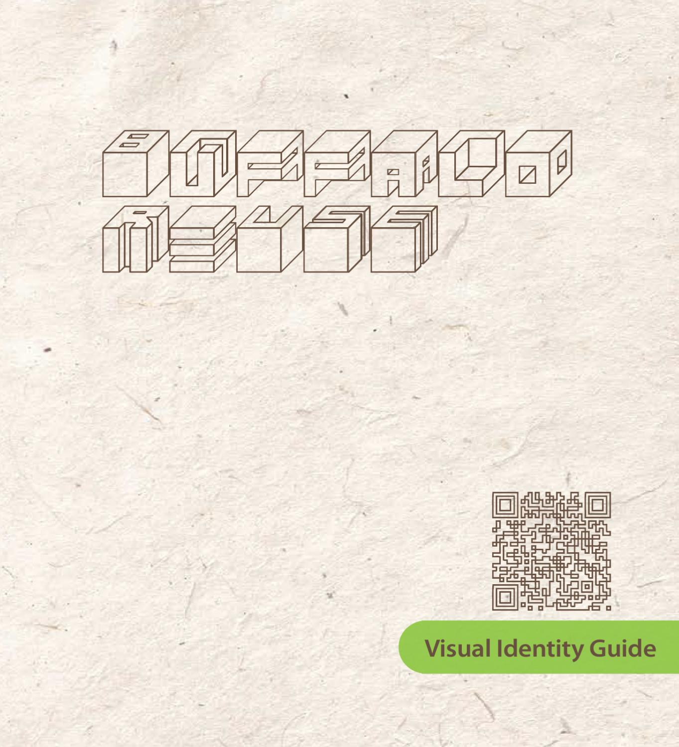 Identity guide for Buffalo ReUSE by renee fok issuu
