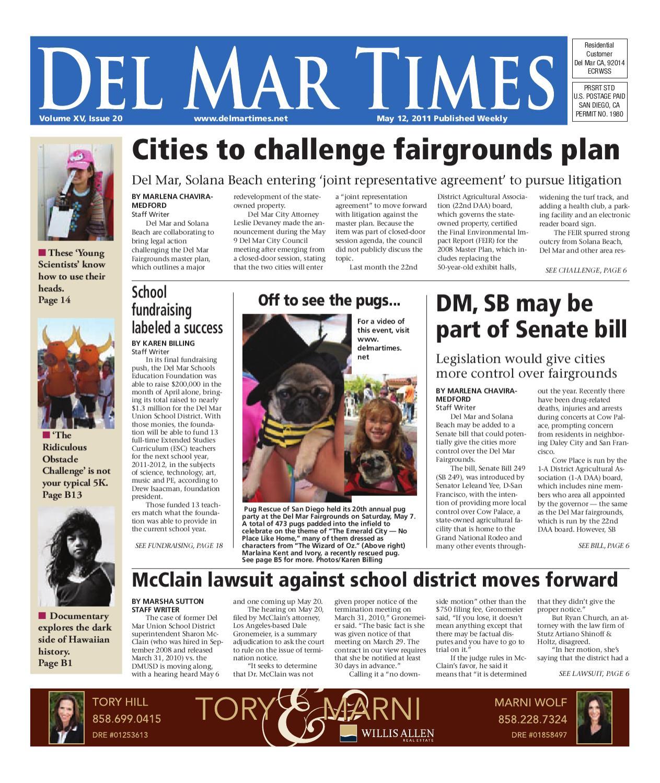 5-12-2011 Del Mar Times by MainStreet Media - issuu