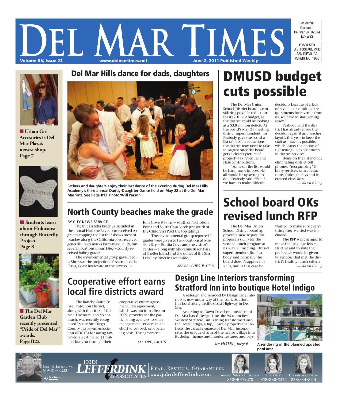6 2 2011 Del Mar Times By Mainstreet Media Issuu