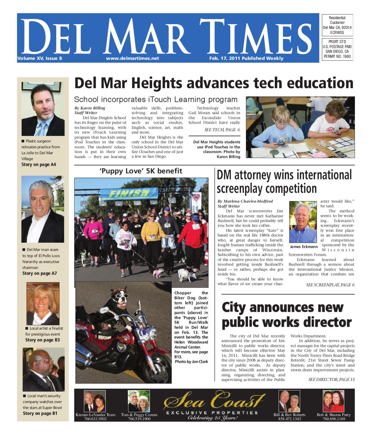 2-17-2011 Del Mar Times by MainStreet Media - issuu on