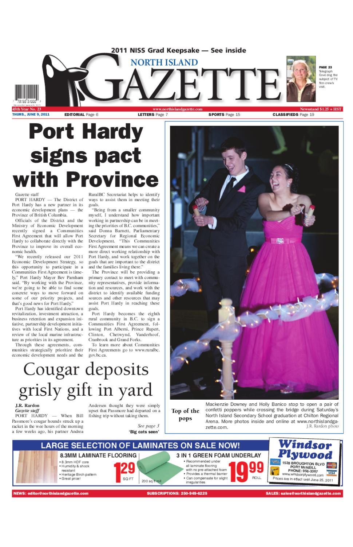 June 9, 2011 by North Island Gazette - issuu