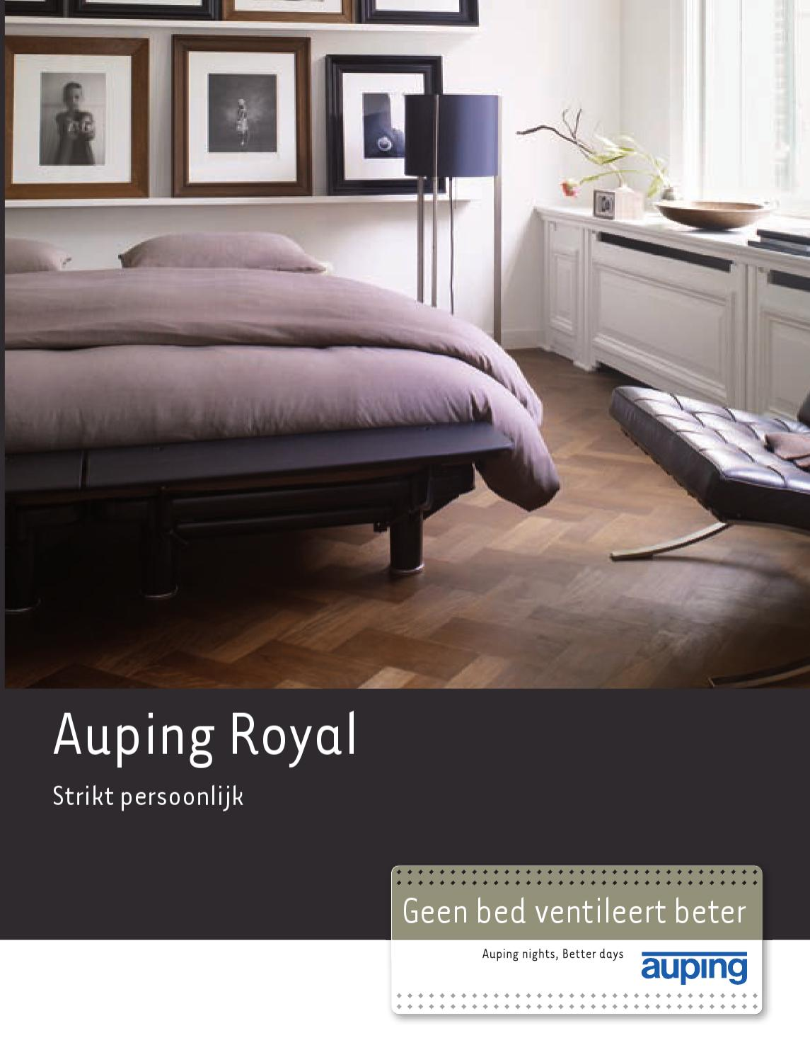 Auping Royal Hoofdbord.Auping Royal Brochure By Pim Van Velsen Issuu